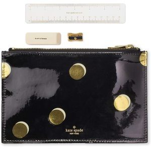 Kate Spade Scatter Dot Pencil Pouch